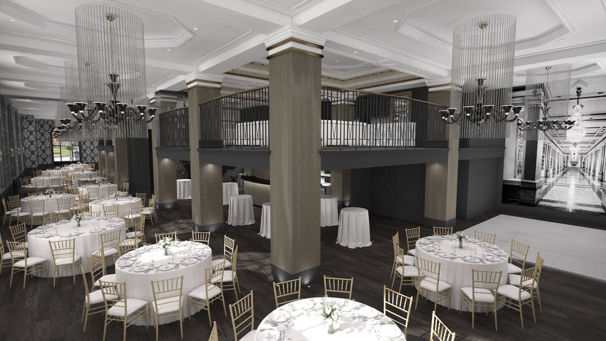 Crystal Lounge Le Windsor Ballrooms Montreal Corporate Events Wedding Reception Venue