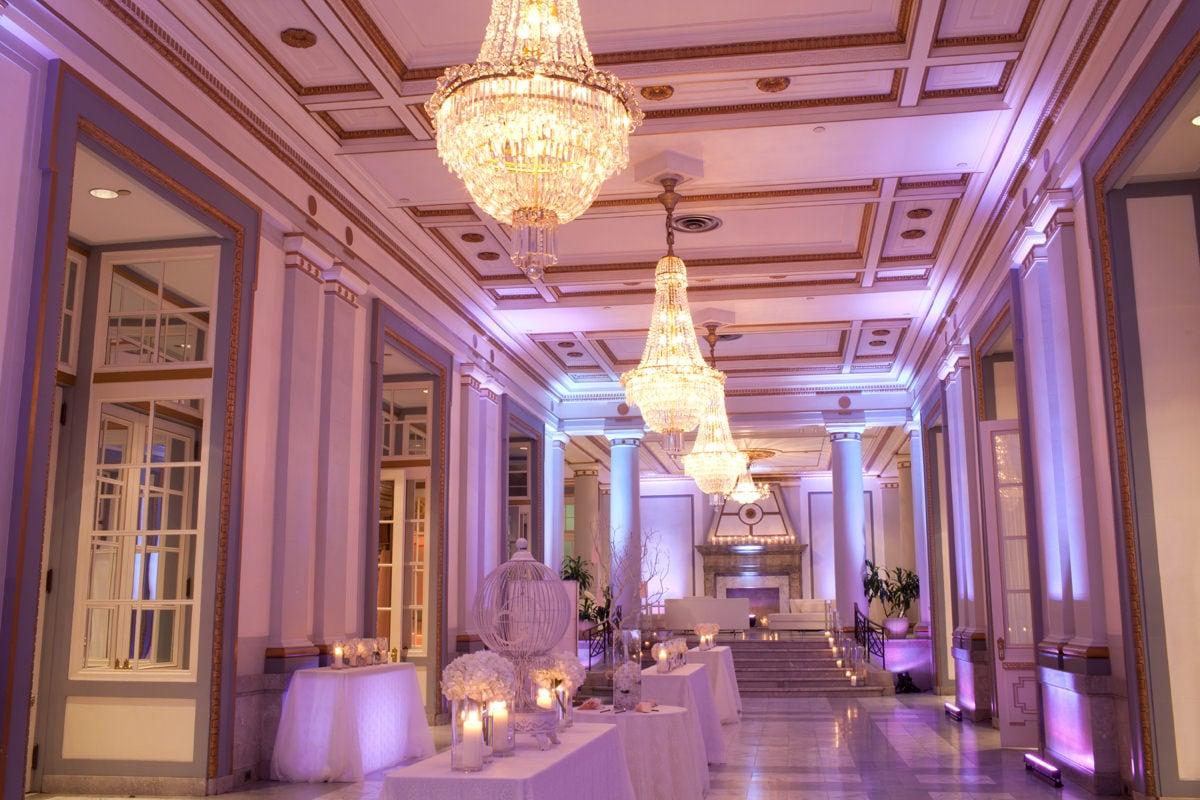 Peacock Alley Le Windsor Ballrooms Montreal Corporate Events Wedding Reception Venue